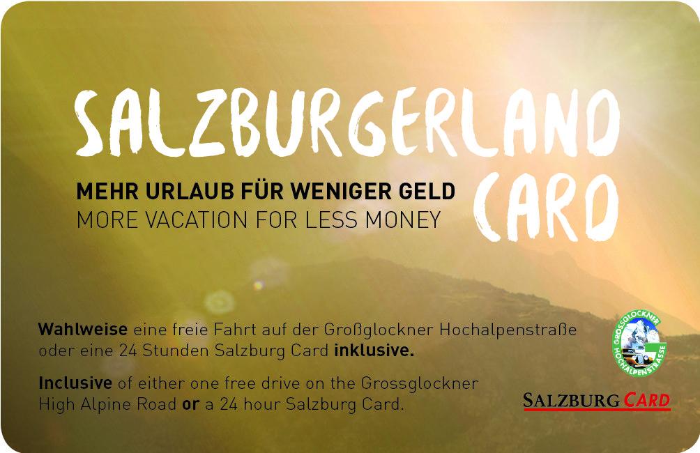 Mit der Salzburgerlandcard mehr als 190 Attraktionen im Salzburgerland besuchen