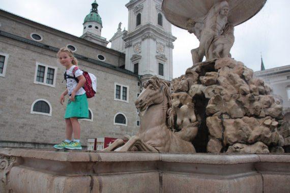 Die Stadt Salzburg ist immer einen Ausflug wert - von unserer Ferienwohnung in Flachau aus seid ihr in nicht mal einer Stunde dort.