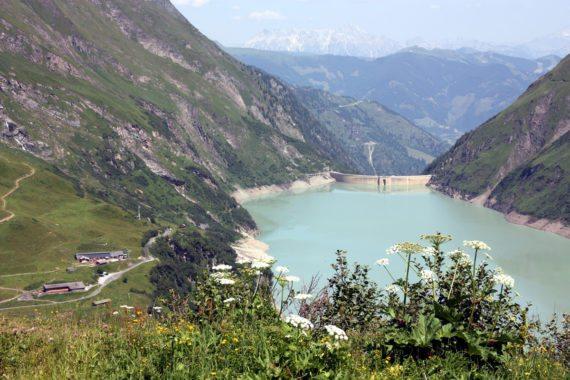 Ferienwohnung in Flachau als ideales Basislager für einen Tagesausflung im Salzburger Land wie beispielsweise zu den Stauseen in Kaprun